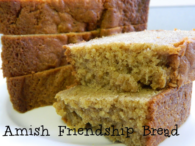 My Favorite Things: Delicious Amish Friendship Bread Starter