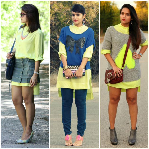 Three Ways To Style Hi-Low Tunic, Tanvii.com