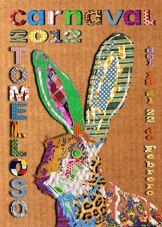 Cartel del carnaval de Tomelloso - Bernabé Martínez