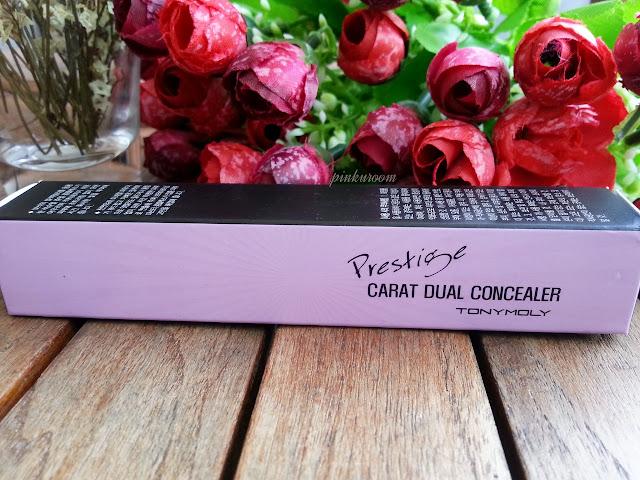 Tony Moly Prestige Carat Dual Concealer Review Pinkuroom