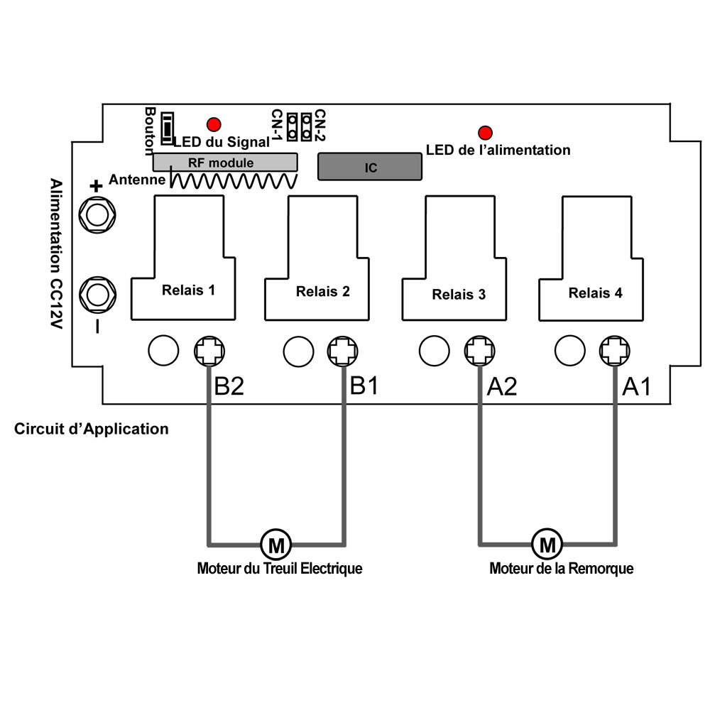 uitiliser un kit commande radio avec t u00e9l u00e9commande sans fil