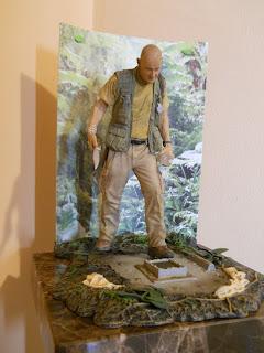 figura a escala de John Locke de la serie Lost
