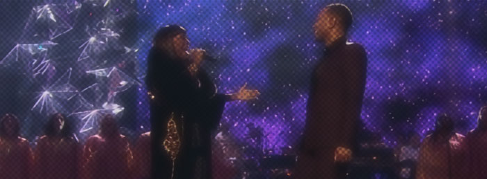 "Patti LaBelle and John Legend perform ""O Holy Night"""