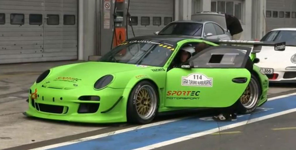 porsche 911 gt2 r sportec in action world news cars. Black Bedroom Furniture Sets. Home Design Ideas