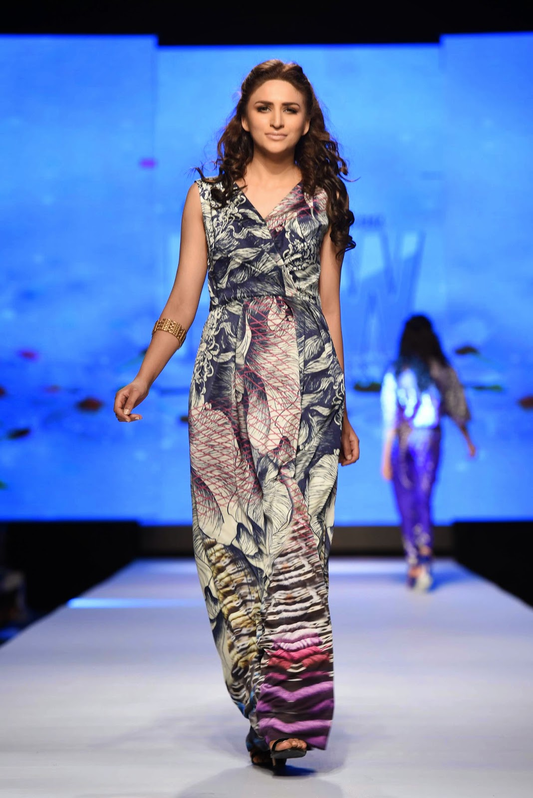 Sania Maskatiya Telenor Fashion Pakistan Week 2015