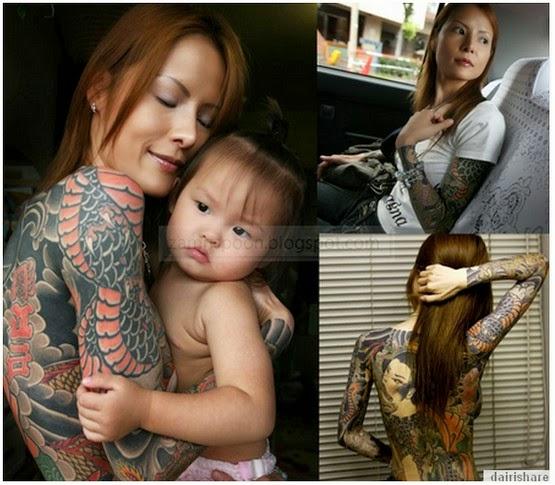 Gambar Anak Perempuan Ketua Kumpulan Mafia Di Jepun