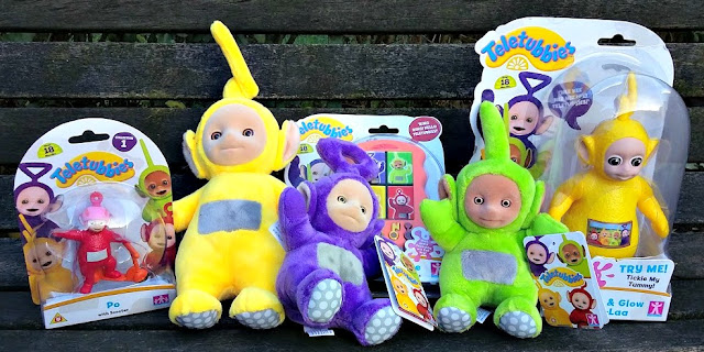 New Teletubbies Range of Toys