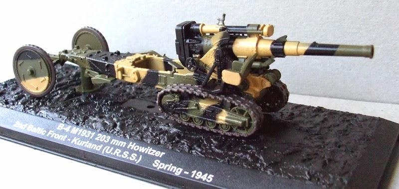 B-4 M1931 203 mm Howitzer URSS