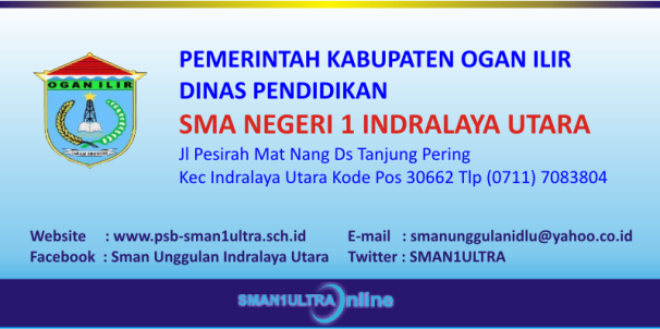 Penerimaan Siswa Baru Online SMA Negeri 1 Unggulan Indralaya Utara Dinas Pendidikan Kabupaten Ogan Ilir  Iwan Hermana