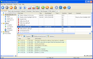 تحميل برنامج فري داونلود مانجر لتحميل الفيديو و الملفات free download manager download free