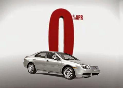 Zero percent auto loan