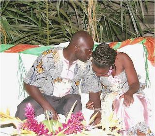 ENCYCLOPEDIE DE LA MODE GABONAISE: Mariage Altogovéen