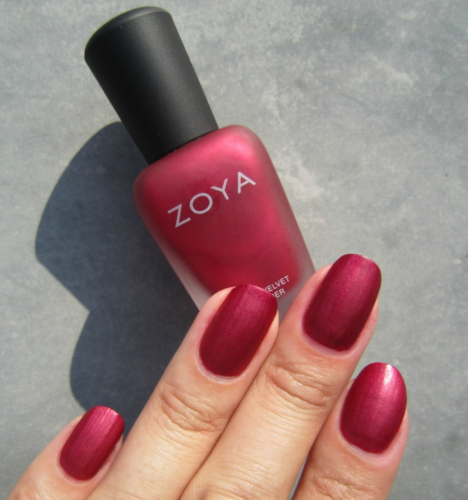 Concrete And Nail Polish Zoya Posh