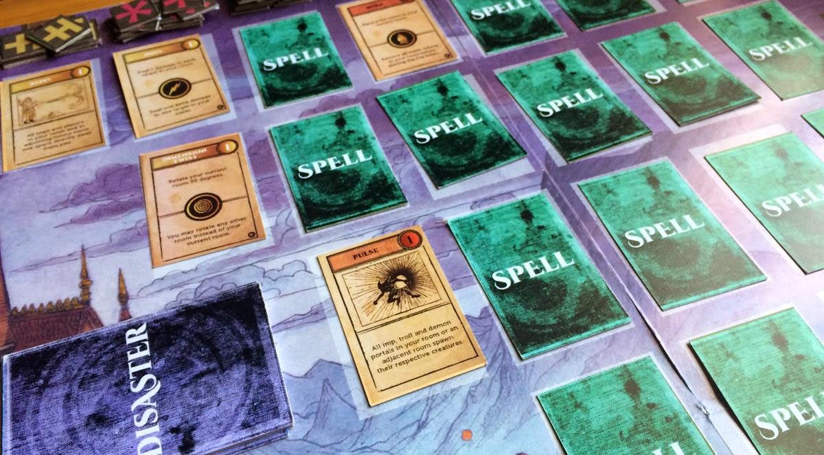 Wizard's Academy spell matrix