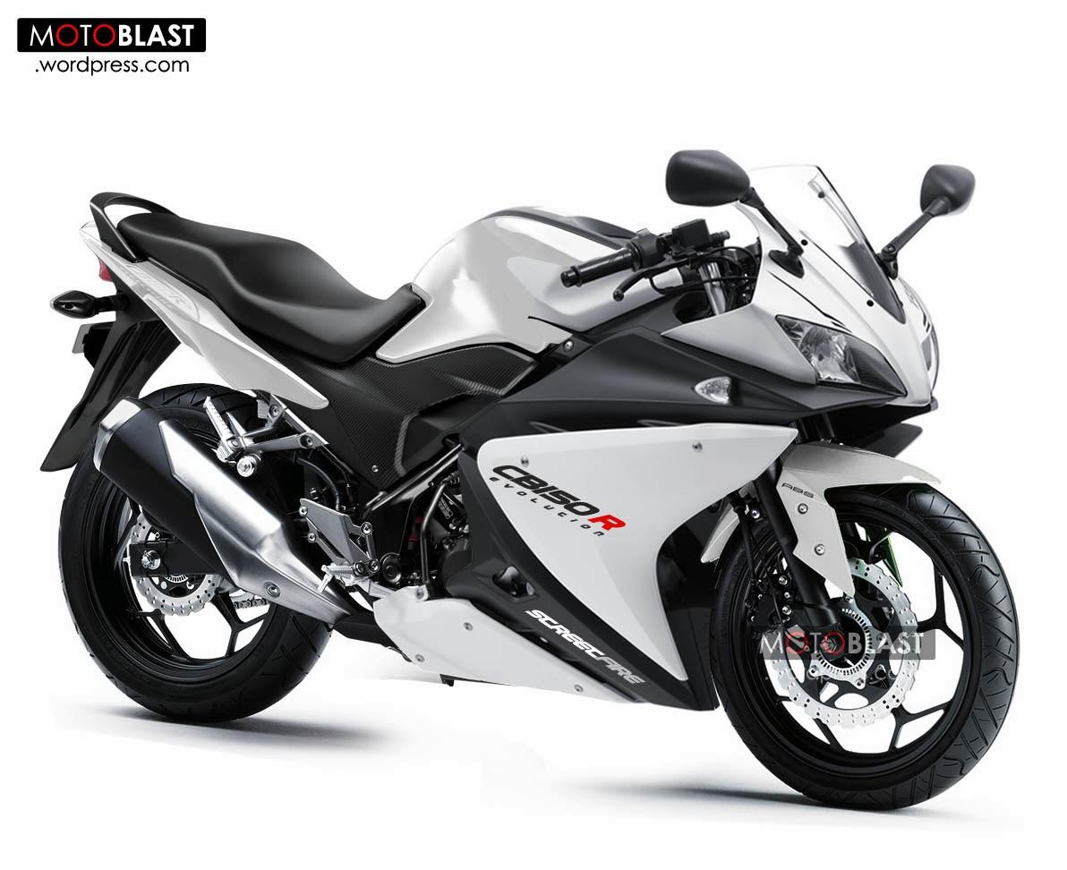 20+ Gambar Modifikasi Honda CB150R Terbaru 2014, Super Keren! - NYETIR