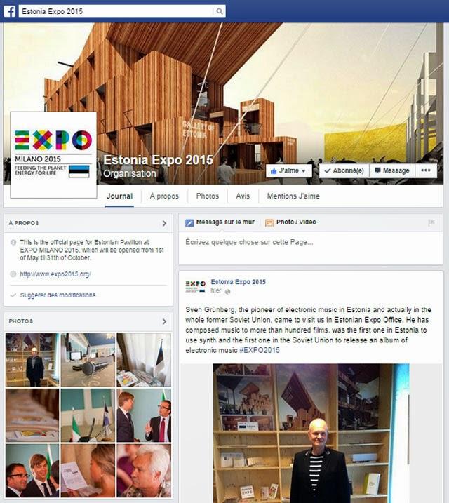 Estonia Facebook page