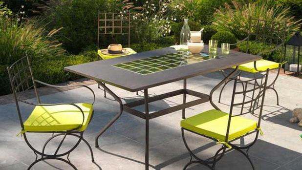 mobiliario de jardim em leiria:Dicas para escolher o mobiliário de jardim em metal ~ Decoração e