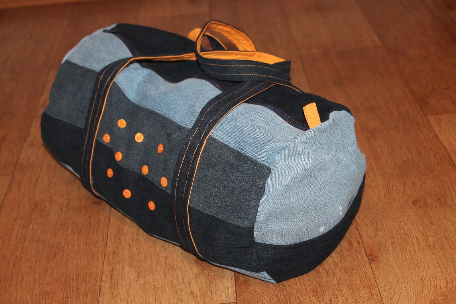 Сшить сумку из старых джинсов для обуви 97