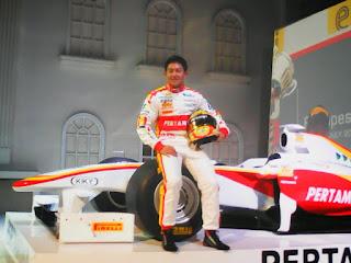 Rio Haryanto melaju ke balapan F1