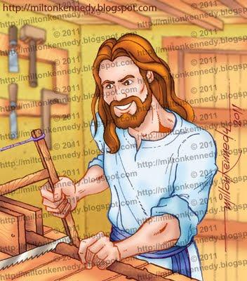 Dia do Trabalho - Jesus carpintteiro