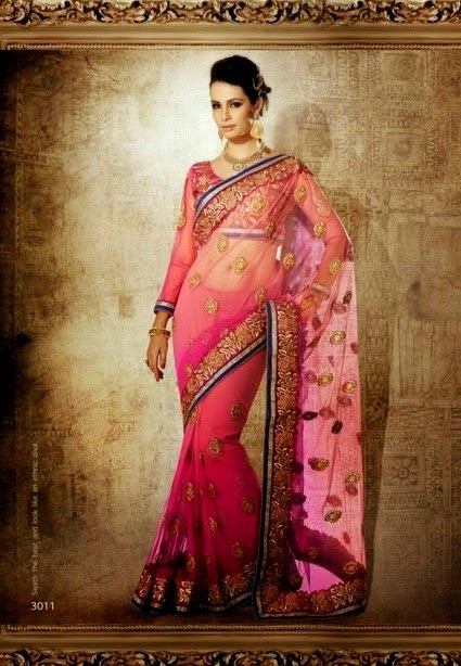 Bridal Waer Saree