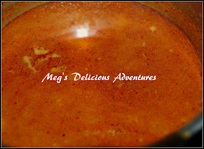 Spicy 'kat' for Kolhapuri Misal