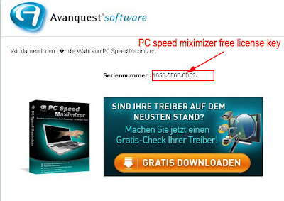 PC Speed Maximizer Serial Key