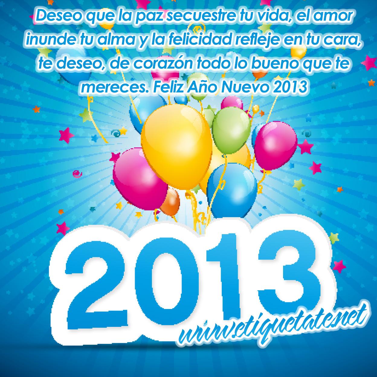Frases Fin de A±o y A±o Nuevo 2013