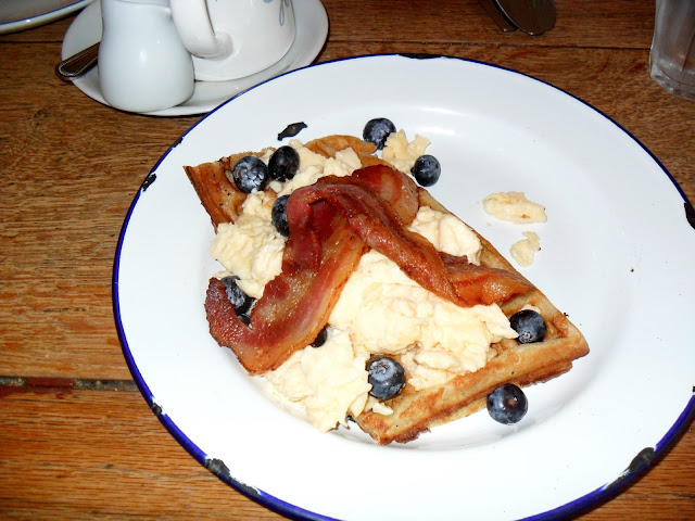 Picture of Breakfast Waffles at Home Sweet Home Manchester