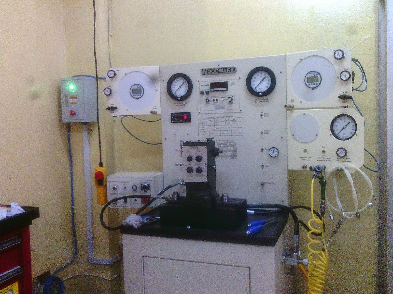 WOODWARD GOVERNOR SERVICE AND CALIBRATION