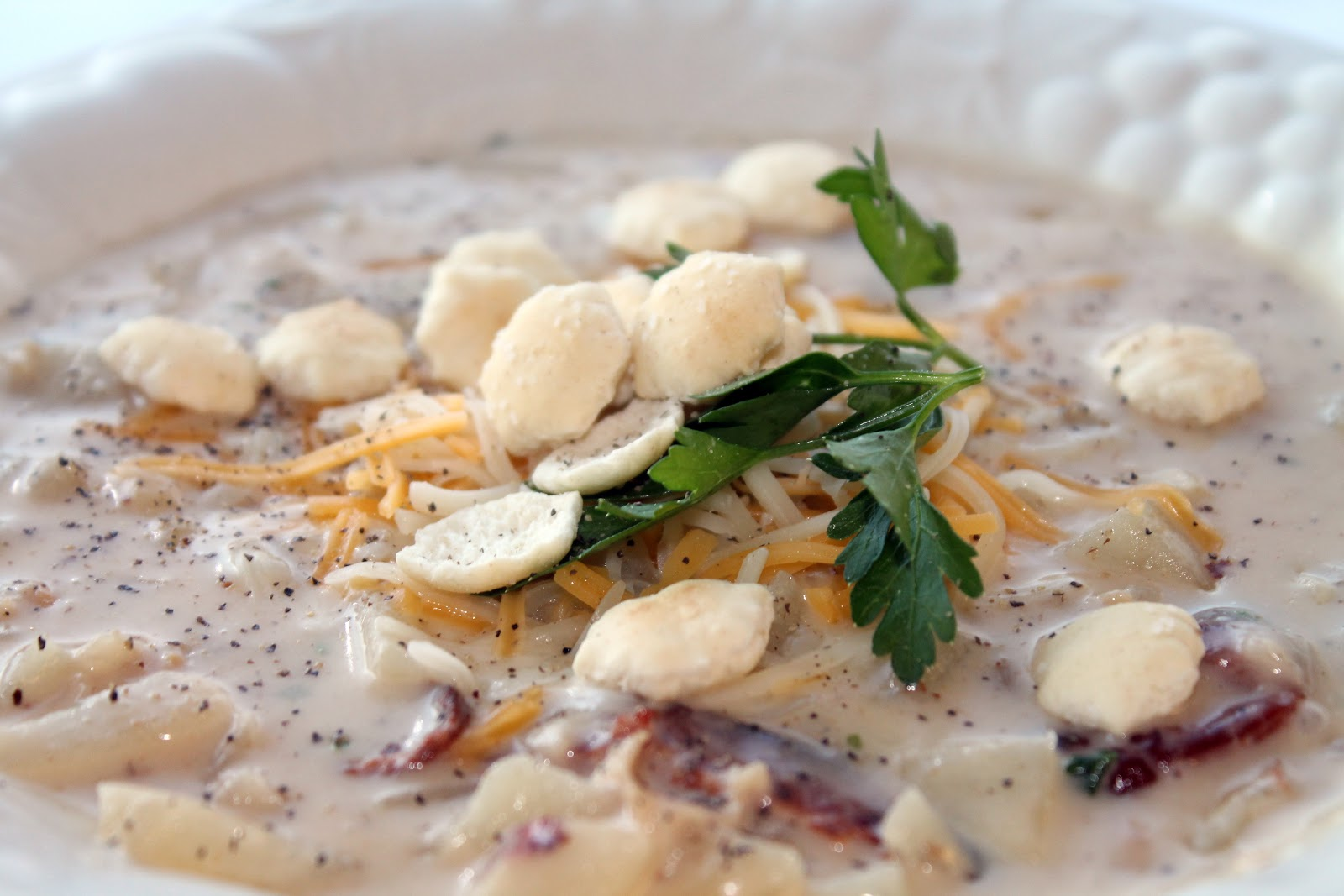 Riches to Rags* by Dori: New England Clam Chowder...