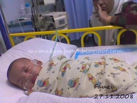 Bila Anak Kembar Masuk Hospital