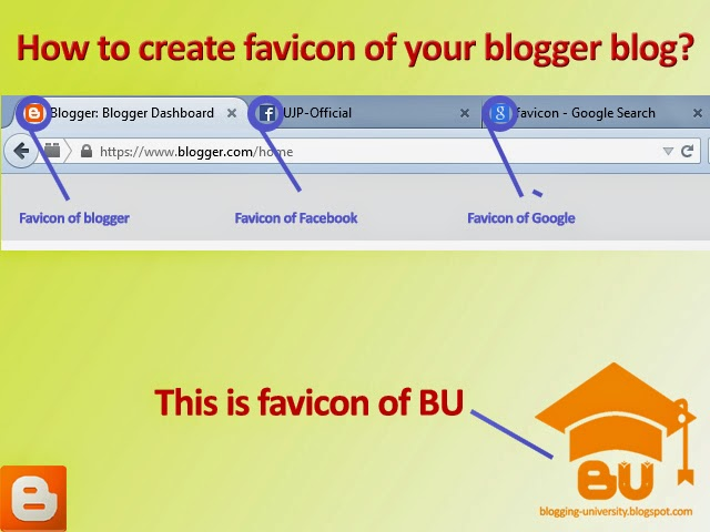 how to make favicon of your blogger blog