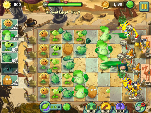 Plants vs zombies 2 android popcap game plants vs zombies 1