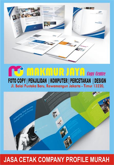 Jasa Cetak Company Profile Murah