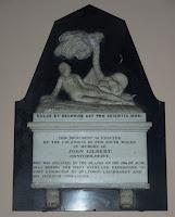 Monumento a John Gilbert - Iglesia de St James