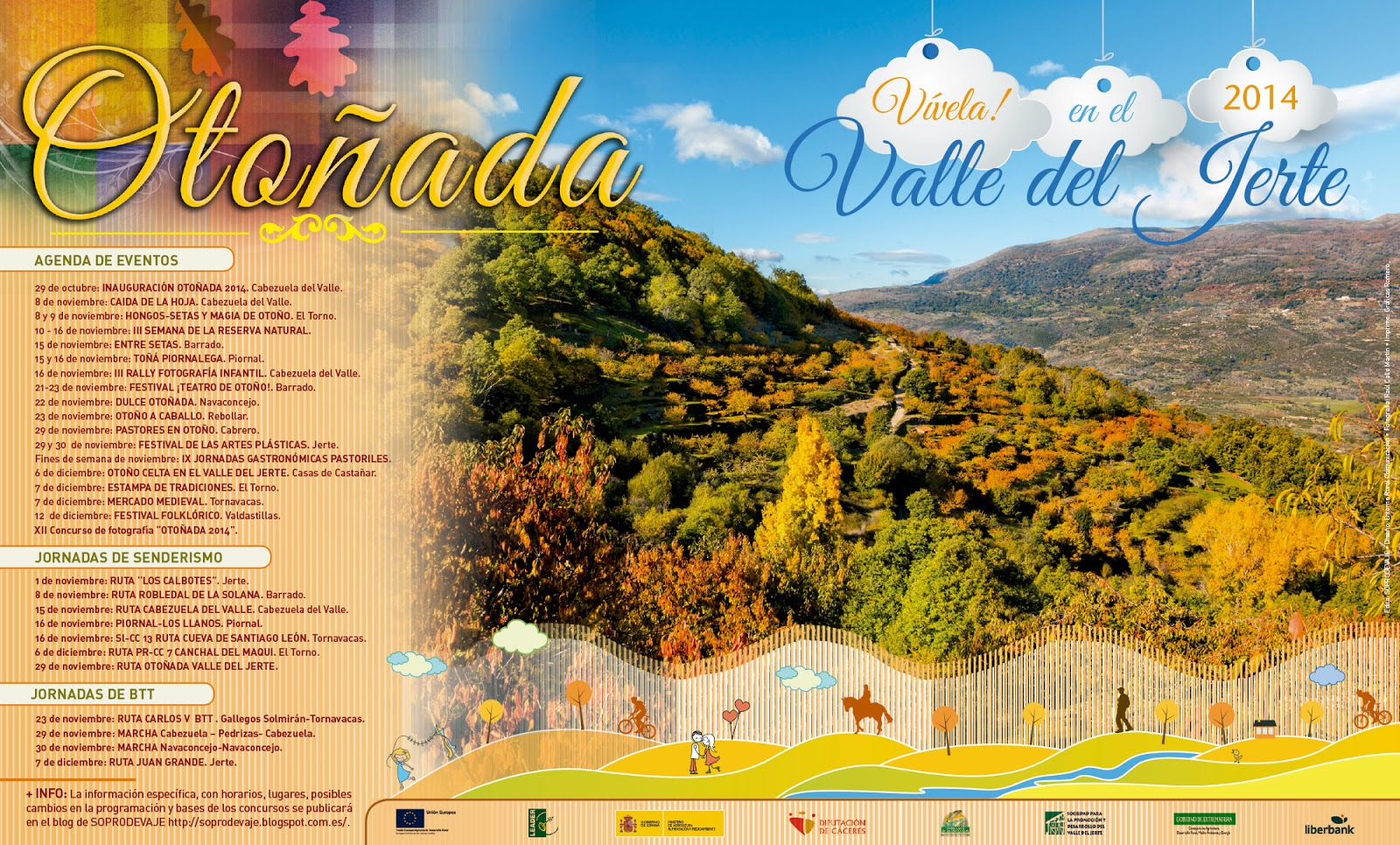 Otoñada 2014. Valle del Jerte