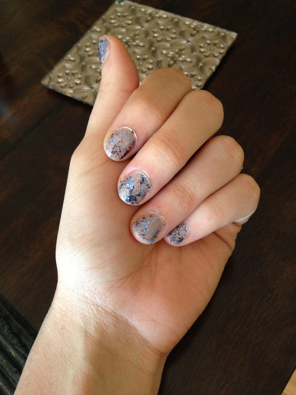 Фото бриллианты на ногтях