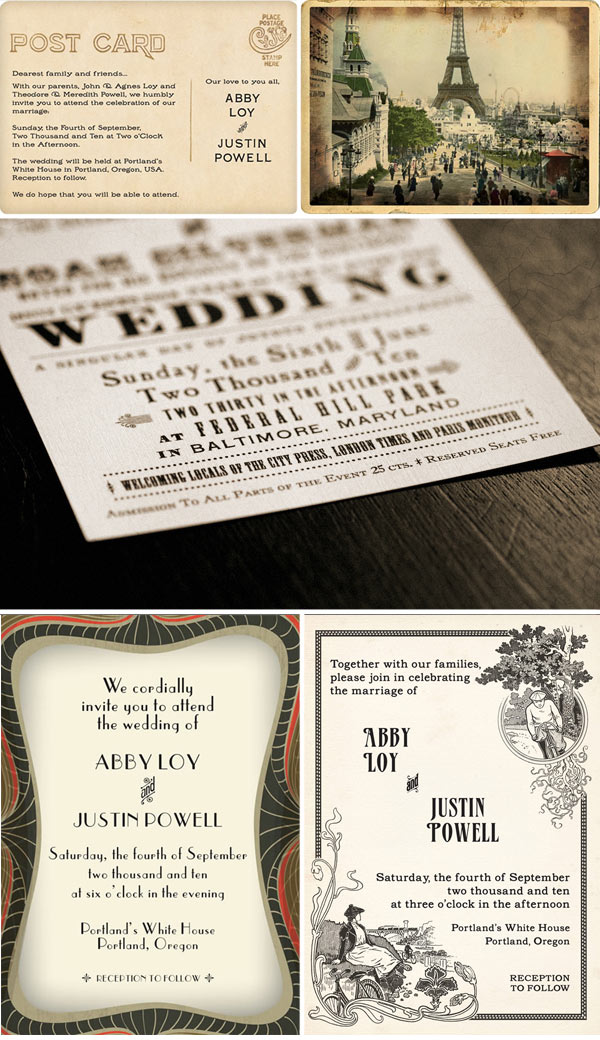 Vintage Wedding Invites is an amazing ideas you had to choose for invitation design