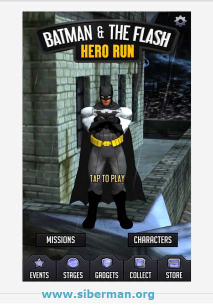 Android Batman & The Flash Hero Run Apk resimi 3