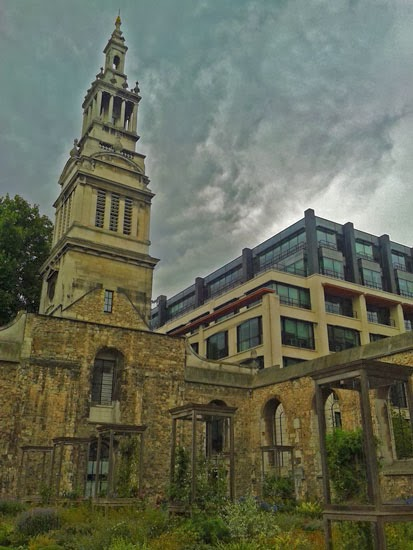 Visit London, Wren churches, destroyed in Great Fire, City Gardens