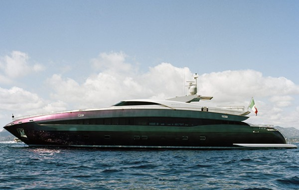 Celebrity Home Photographs by Douglas Friedman: Roberto Cavalli Yatch 1