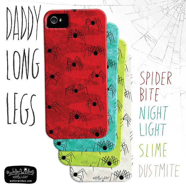 Daddy Long Legs iphone case by Kathy Weller WellerWishes