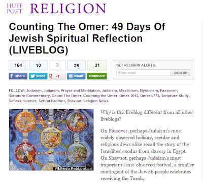 Huffington Post - Torah Omer Learning