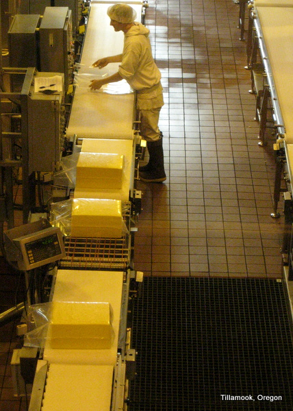Oregon Coast - Tillamook Cheese Factory