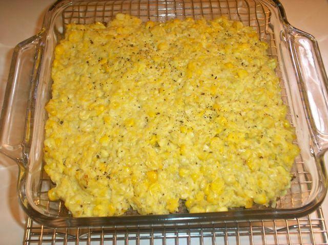 The Briny Lemon: Chilean Corn Pie (Pastel de Choclo) with Pebre Sauce