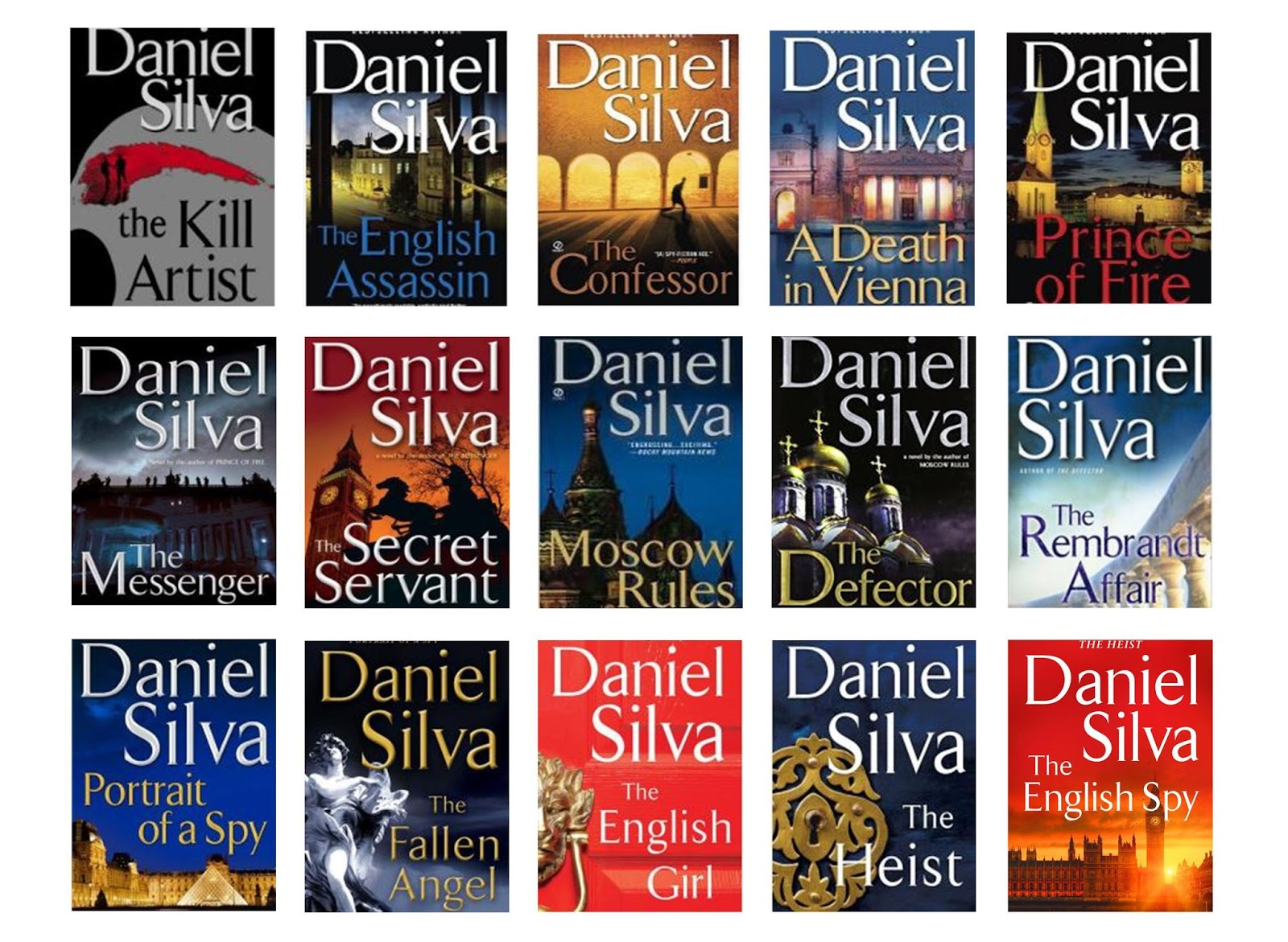 Daniel Silva: Creator Of Gabriel Allon
