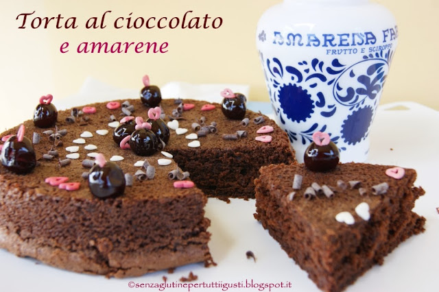 Torta al cioccolato e amarene senza glutine: 100% Gluten Free (Fri)day per tutti!