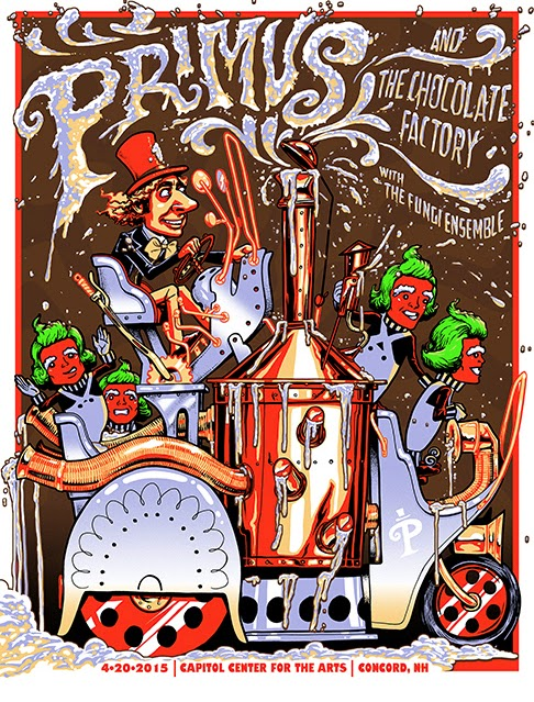 Primus And The Chocolate Factory Poster