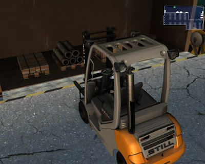 Free Download Simulator Games, Download  Forklift Truck Simulator 2009